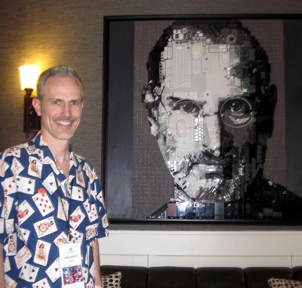 """Franky with Kirkland Smith """"Steve Jobs"""""""